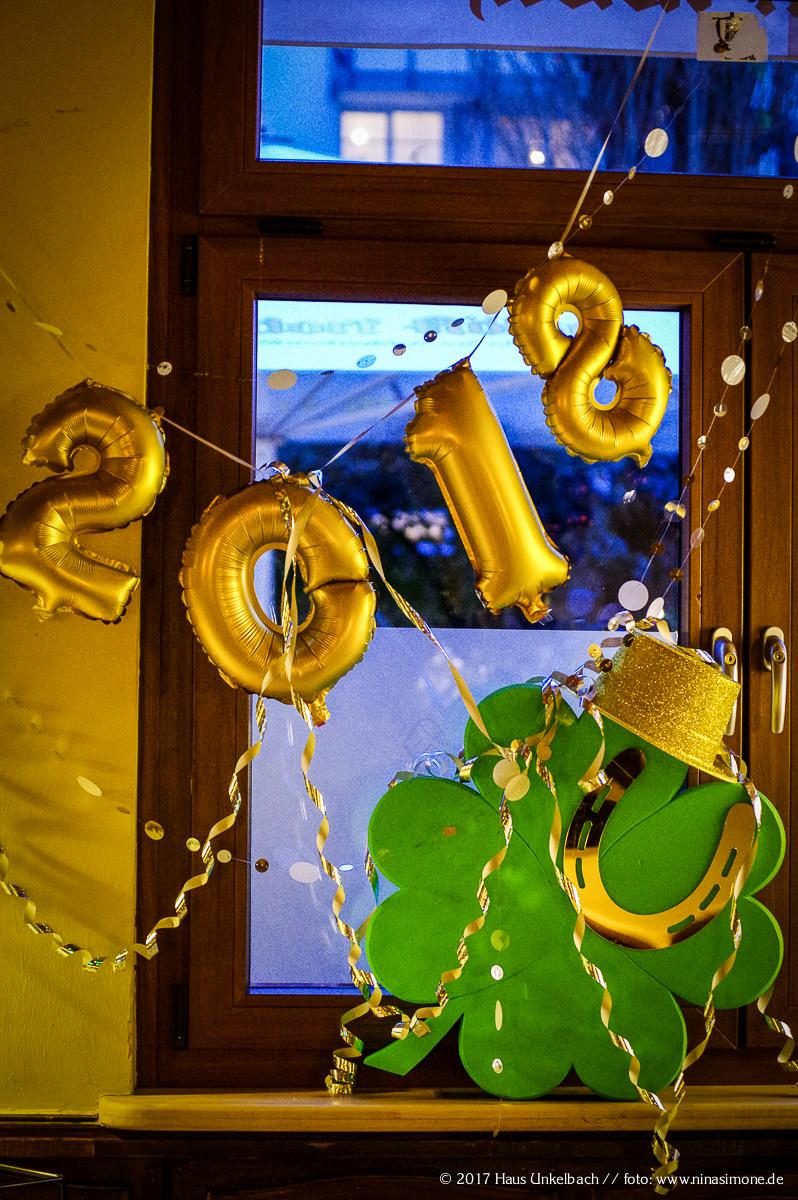 Haus Unkelbach Silvester 2017/2018 - Foto: NINA SIMONE PLUM